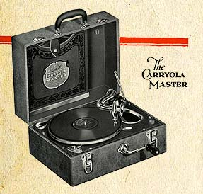 Carryola Phonograph