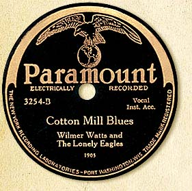Cotton Mill Blues Label