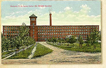 Loral Mill Postcard