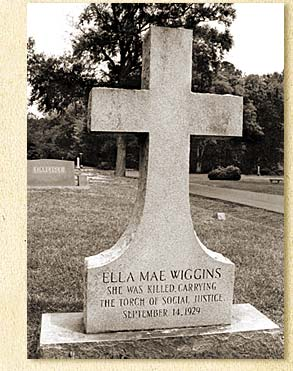 Ella May Wiggins' Tombstone