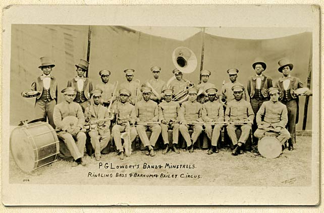 P.G. Lowery's Band & Minstrels