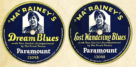 Ma Rainey Portrait Disks
