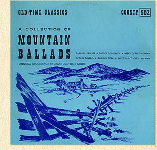 Mountain Ballads LP