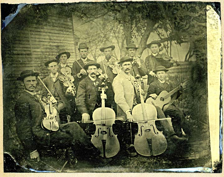 Unidentified String Musicians
